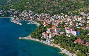 Chorvatsko - Baška Voda na 8 dní, bez stravy s dopravou vlastní