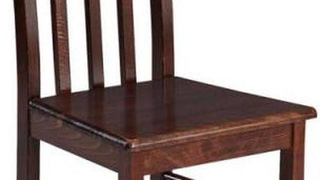 Kvalitní jídelní židle z bukového dřeva STRAKOŠ B XIII