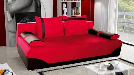 Líbivý design a pěkné zpracování pohovky STRAKOŠ Rossa 02