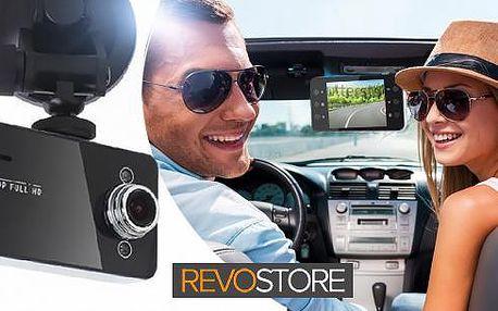 Full HD kamera do auta s LCD obrazovkou, záznamová kamera, nebo zpětné zrcátko s HD kamerou