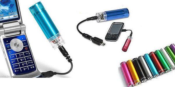 Revoluční příruční nabíječka mobilního telefonu, či mp3 přehrávače z jedné tužkové baterie AA!