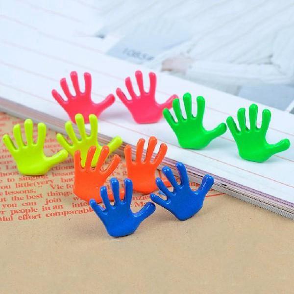Originální náušnice ve tvaru dlaní - v 5 barvách