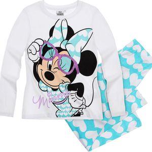 Disney Dívčí pyžamo s Minnie -modré puntíky, 104 cm