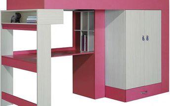 Dětská postel s psacím stolem a skříní Adéla 3