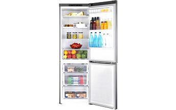 Tichá beznámrazová lednice Samsung s chytrým rozmístěním polic