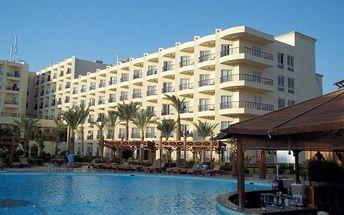 Egypt - Hurghada na 8 až 15 dní, all inclusive s dopravou letecky z Brna přímo na pláži