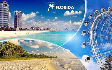 Florida na 10 dnů se snídaněmi a bohatým programem sestaveným na míru!