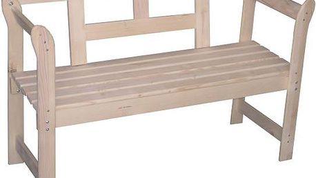 Zahradní lavice Anja ze smrkového dřeva