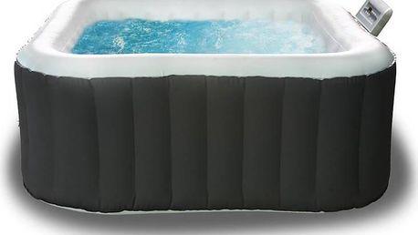 Prostorný nafukovací vířivý bazén Bubble Spa pro 2 dospělé a 2 děti