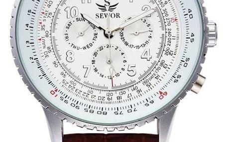 Pánské hodinky ve dvou barvách - samonatahovací