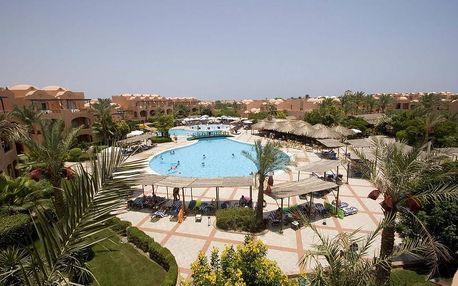 Egypt - Hurghada na 8 až 15 dní, all inclusive s dopravou letecky z Brna 250 m od pláže