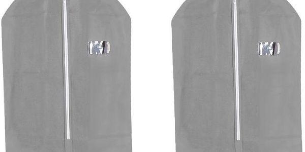Set 2 obalů na oblek Suit Cover Grey