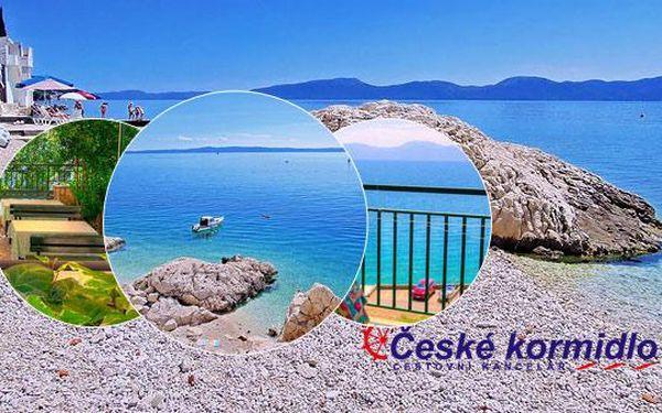 8–10denní Chorvatsko (Brist) | Pláž 30 m | DÍTĚ ZDARMA | Polopenze | Villa Jelena*** | Autobusem nebo vlastní