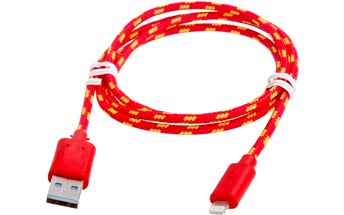 Textilní kabel na Apple produkty 8 pin - 2 barvy