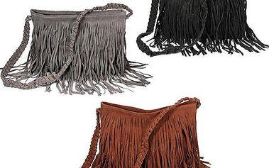 Dámská kabelka s třásněmi