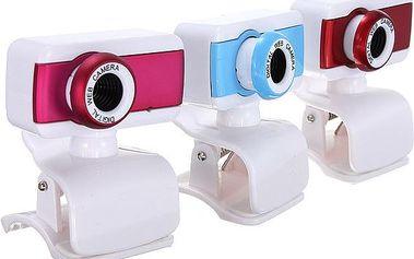 Webkamera s mikrofonem – 3 barvy