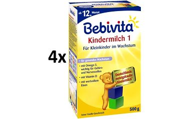Bebivita JUNIOR 1+ - 4 x 500g