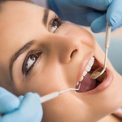 Dentální hygiena včetně leštění zubů