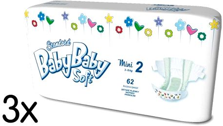 BabyBaby Soft Standard MINI 186 ks