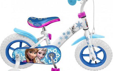 Stamp Jízdní kolo 12´´ s postranními kolečky Frozen