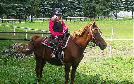 Pobyt s možností jízdy na koni! 3 až 8 dní s polopenzí uprostřed středoslovenské přírody