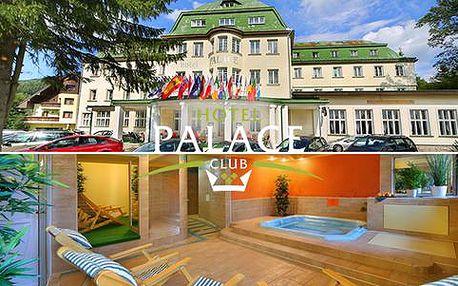 All inclusive ve Špindlu pro 2 dospělé a 1 dítě v hotelu Palace Club***