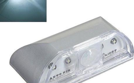 4 LED světlo s čidlem pohybu - dodání do 2 dnů