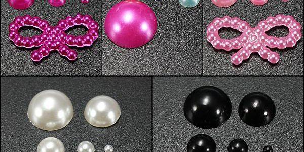 Dekorace na nehty z perliček