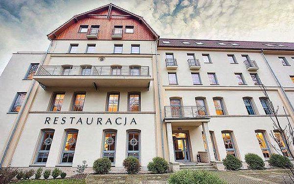 3 až 8denní wellness pobyt pro 2 osoby v hotelu SPA Medical Dwór Elizy v Polsku