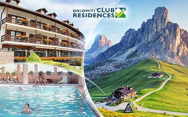 Val di Fiemme - Dolomity, Itálie na 6 dní pro 2 osoby včetně snídaní, wellness a fitness