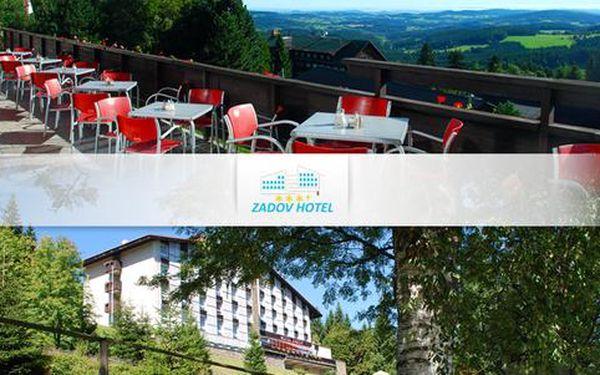 Turistika i wellness pro dva v Hotelu Zadov***+
