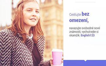 Online jazykový kurz angličtiny 12m - možnost vyzkoušení zdarma!