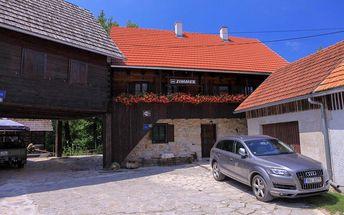 Chorvatsko - Pokoje Ivan - Plitvická jezera / bez stravy, vlastní doprava, 14 nocí, 4 osoby