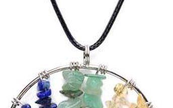 Náhrdelník barevný strom - skladovka - poštovné zdarma