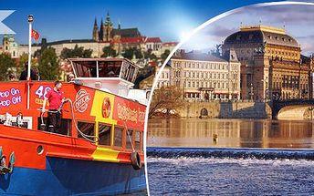 Hodinová plavba lodí po Vltavě pro 1 osobu + možnost kávy se zákuskem!