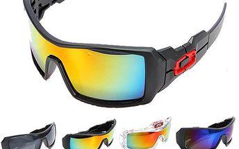 Sportovní brýle - 9 barevných provedení