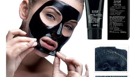 Černá slupovací maska na čištění pleti