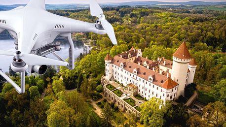 Dechberoucí fotografie pořízené profi dronem