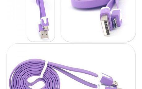 Micro USB datový a nabíjecí kabel - 1 m