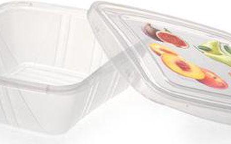 Set 3 krabiček na jídlo Fresh, 0,5 l