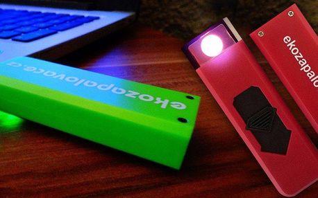 Ekologický USB zapalovač do každého počasí