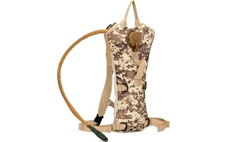 Outdoorový batoh s vakem na tekutiny Army