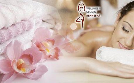 Klasická masáž zad, šíje a dolních končetin v brněnském wellness studiu Renneská. Klasická masáž se skládá z několika speciálních masérských hmatů, které působí a ovlivňují lidský organismus, zejména posilují zdraví, zdatnost a zvyšují celkovou odolnost.