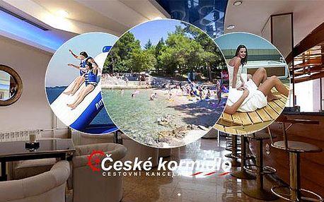 8–10denní Chorvatsko (Krk) | Dítě do 9,99 ZDARMA | Polopenze | Pláž 50 m od hotelu Malin** | Autobusem nebo vlastní