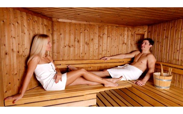 120minutová letní relaxace v sauně