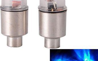 Svítící čepičky na ventilek kola - 2 ks