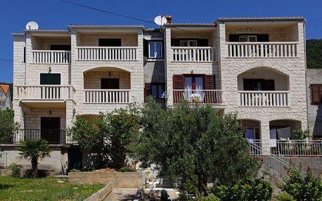 Chorvatsko - Apartmány 359-60 - Ostrov Brač / bez stravy, vlastní doprava, 15 nocí, 4 osoby