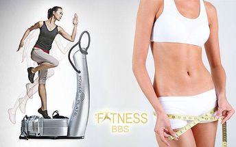 1x nebo 5x cvičení na PowerPlate pro ženy s osobní trenérkou ve Fitness BBS v Praze