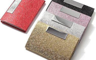 Kovové pouzdro na karty či na vizitky - více barev