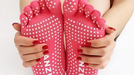 Prstové ponožky na cvičení - poštovné zdarma